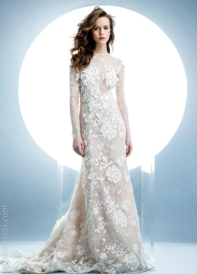Vestidos de novia de Angel Sanchez 2016