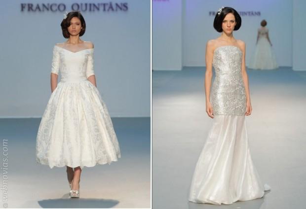 Vestidos de novia de Franco Quintans 2015