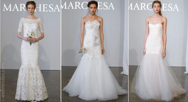 Marchesa y sus vestidos de novia 2015 | Webnovias.com