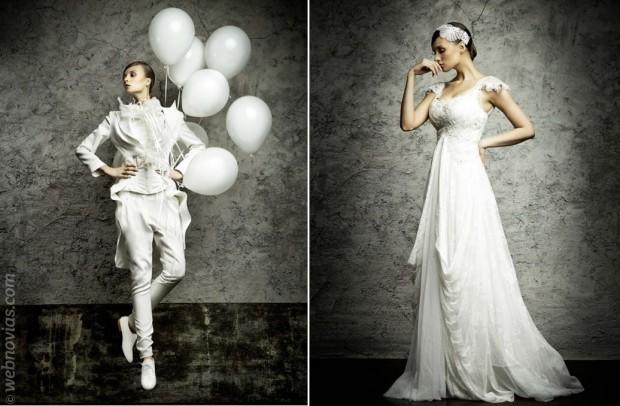 Özlem Süer: vestidos de novia únicos