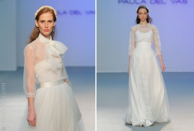 Vestidos de novia de Paula del Vas 2015