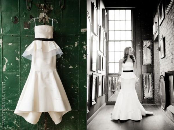 consejos de moda: vestidos silueta peplum | webnovias