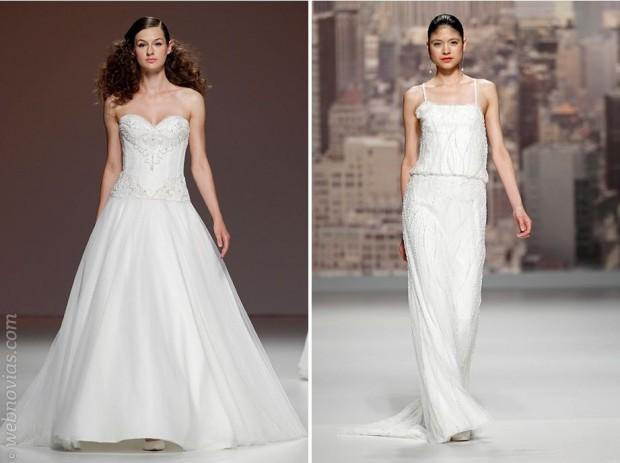 Vestidos joyas BCN bridal week 2014