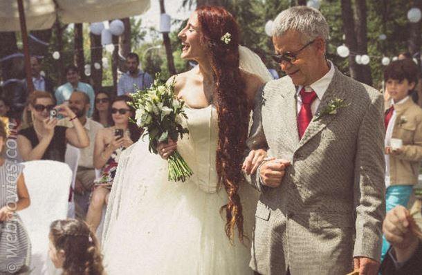 ¡Viva el padre de la novia!