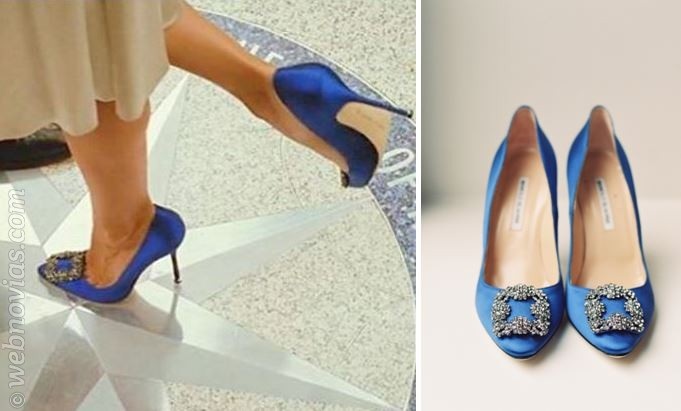 """Zapatos de novia: el """"algo azul"""""""