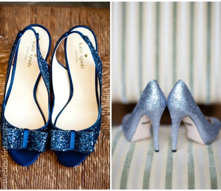 Zapatos de novia el algo azul