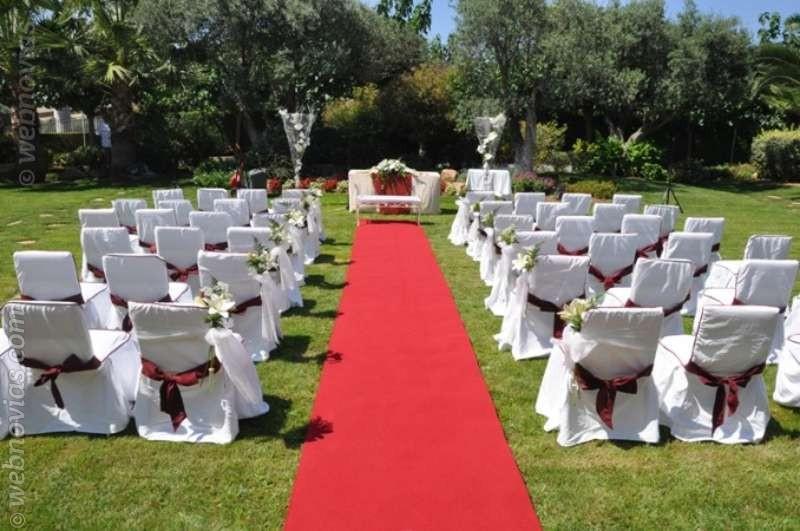 La alfombra de tu boda