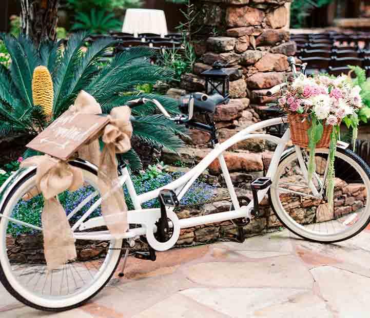 Bicicleta para bodas