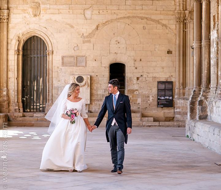 Iris y Jordi, de boda en la Seu Vella de Lleida