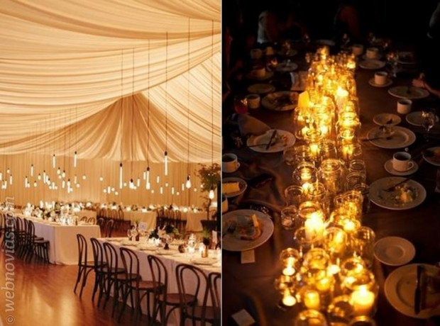 iluminaci n creativa para bodas