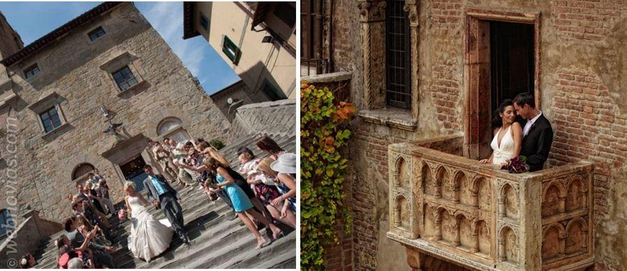 Luna de miel: La Verona de Romeo y Julieta
