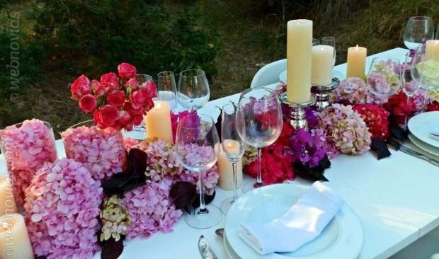 centros de mesa bodas primavera