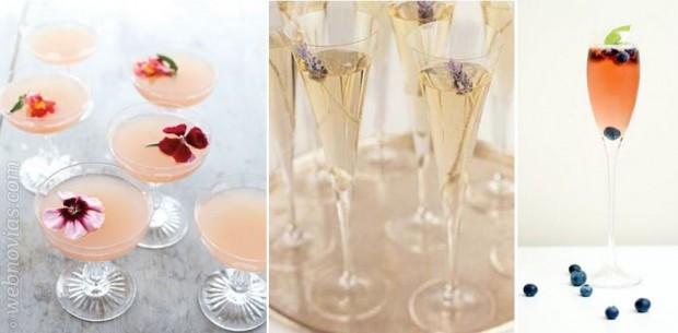 Los 5 cócteles que triunfarán en tu boda