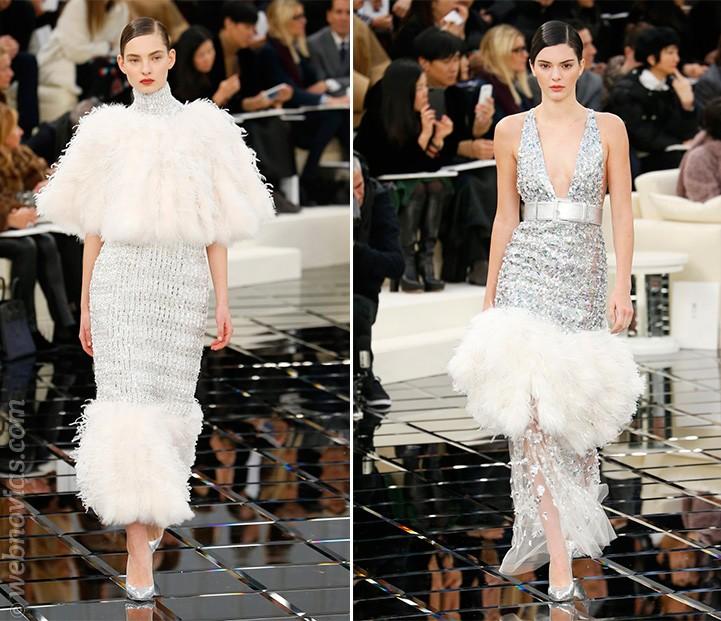 Vestidos Alta Costura primavera-verano 2017 de Chanel