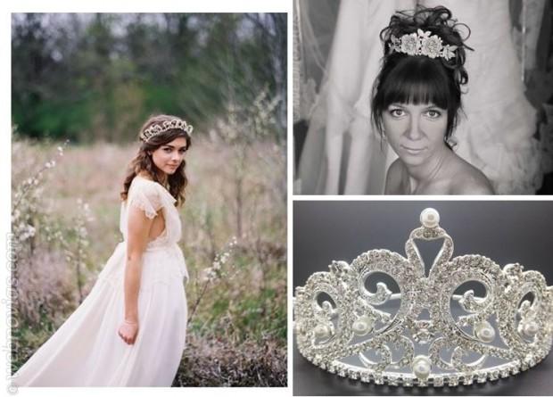 Érase una vez... novias con tiara