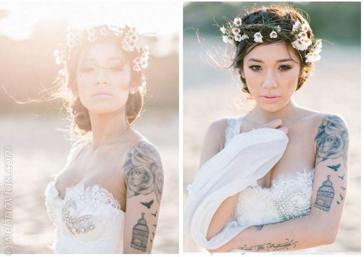novias tatuadas: ¿lo muestro o no? | webnovias