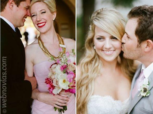 Maquillaje para novias con piel clara