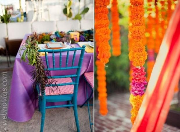 Los colores de las bodas de 2014