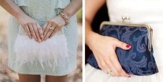 complemento novias bolso