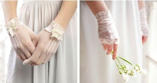 complemento novias guantes