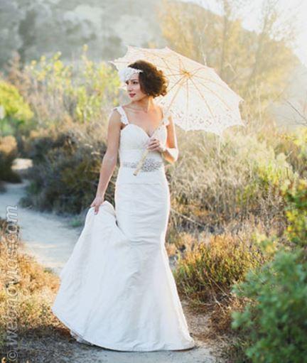 complemento novias paraguas