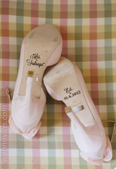 complemento novias zapatos