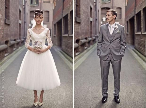 consejo de moda: vestidos de novia años 50 | webnovias