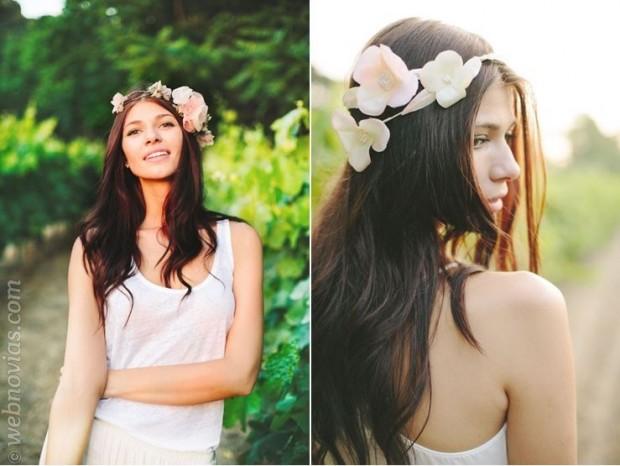 Beatriz Natmar cubre de flores a las novias