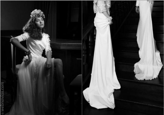 Colección de vestidos de novia 2014 de Cristina Pascual