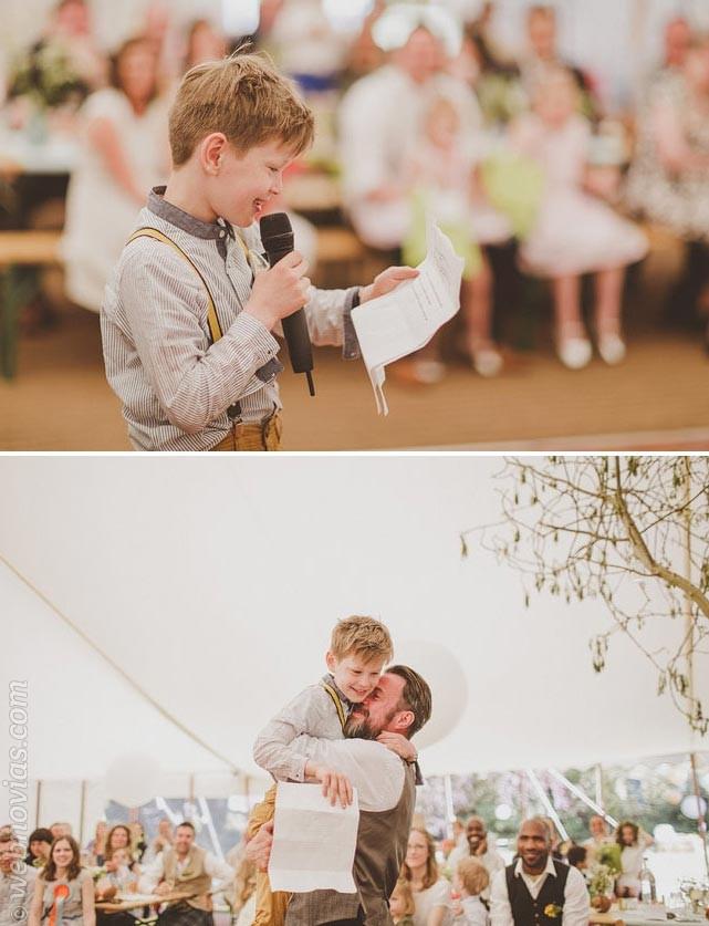Discursos de boda: dedicad unas palabras