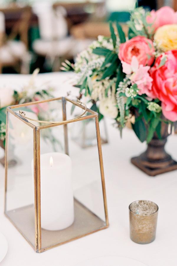 Dorado mesa banquete