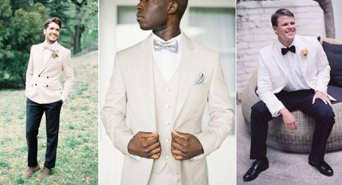 El color del traje de novio for Boda en jardin como vestir hombre
