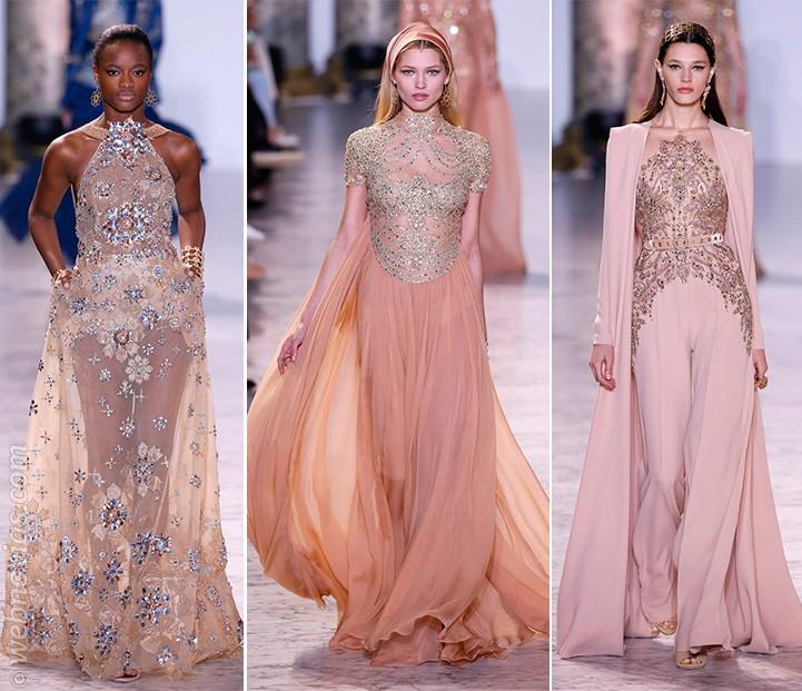 Vestidos Alta Costura primavera-verano 2017 de Elie Saab