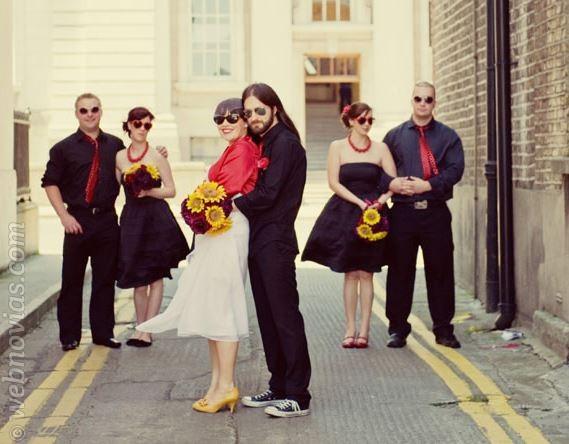 Una boda rockera