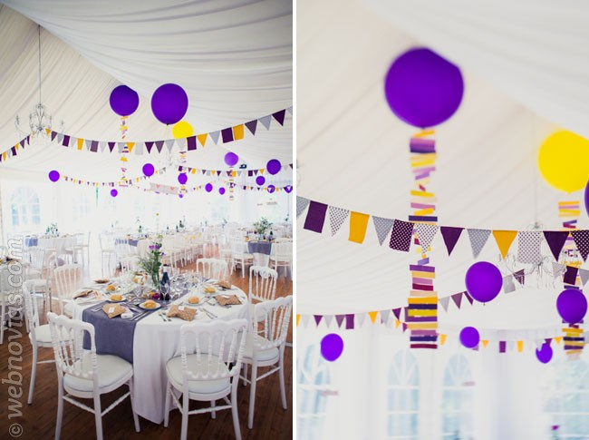 Decora tu boda con globos