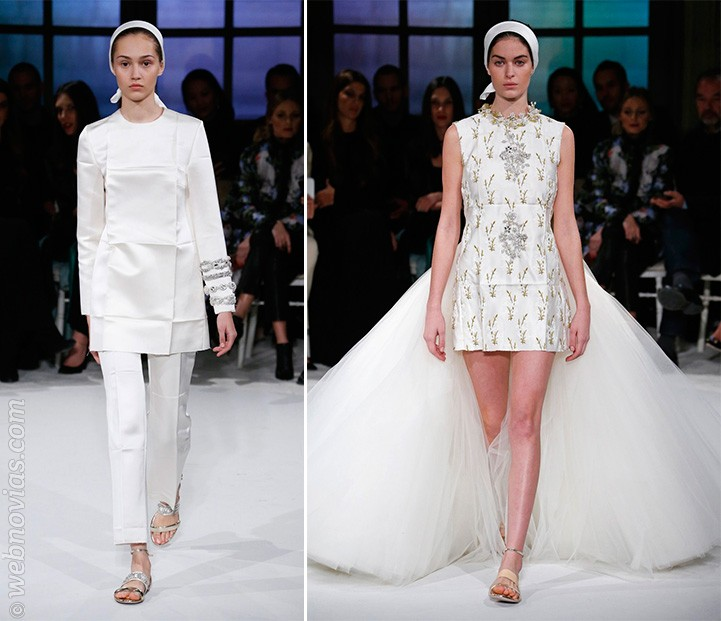 Vestidos Alta Costura primavera-verano 2017 de Giambattista Valli