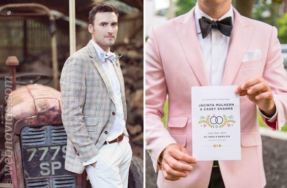 Bodas de verano: 5 ideas para el look del novio