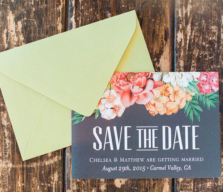 Las invitaciones de boda más refrescantes