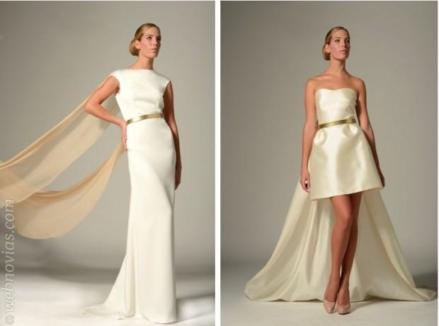 Colección de novias 2014 de Iván Campaña