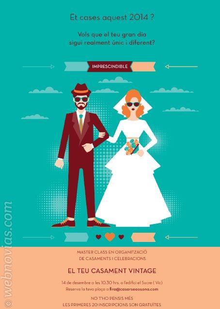 Aprende a montar tu boda vintage