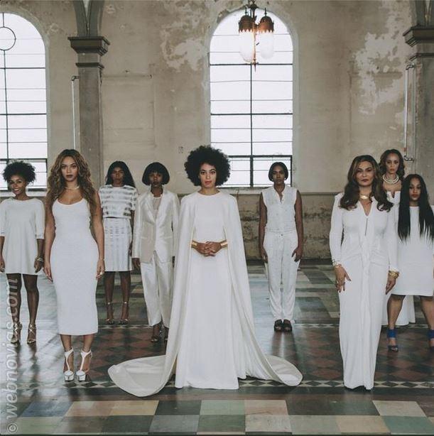 La boda de Solange Knowles