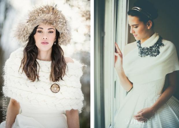 Novias De Invierno El Look Perfecto Webnoviascom - Novias-de-invierno