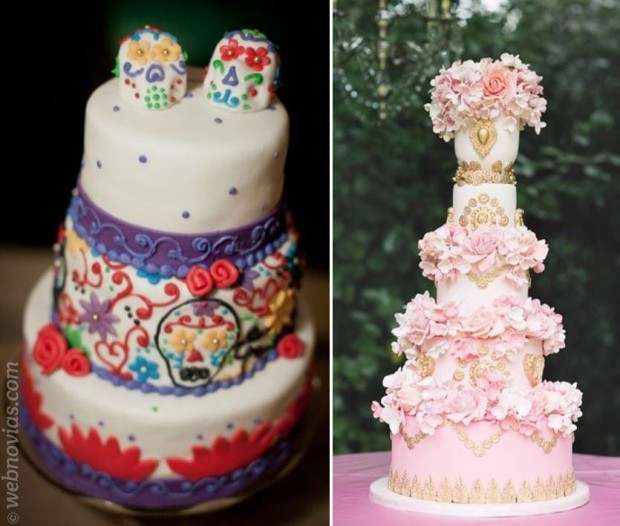 Pasteles de boda originales, ¡atrévete!