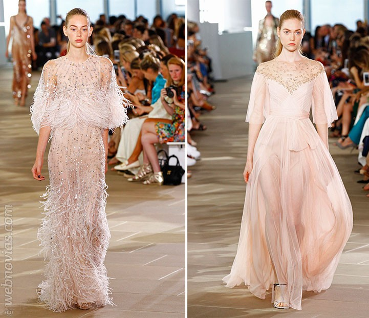 Las novias de la New York Fashion Week