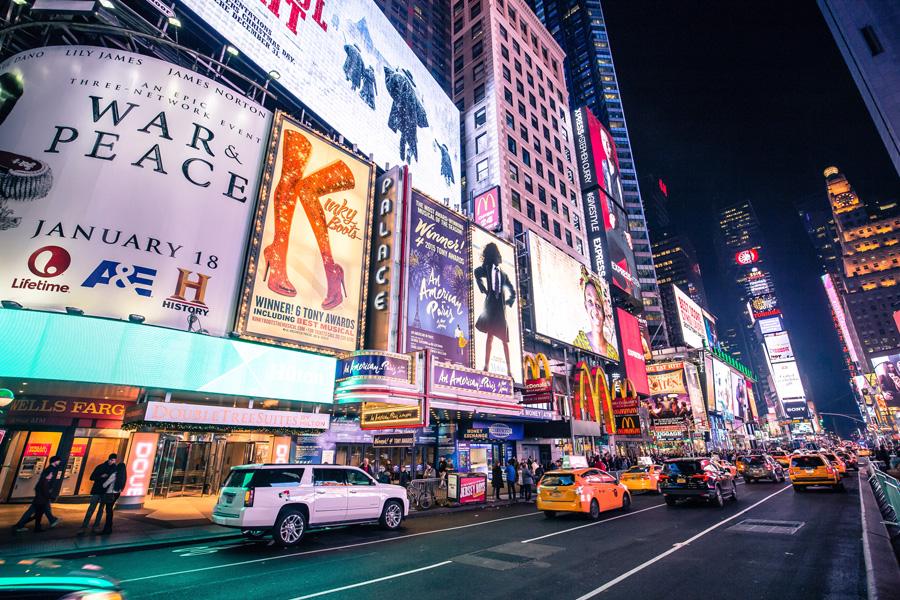 Luna de miel en Nueva York