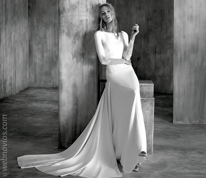 Vestido de novia de Manu Garcia