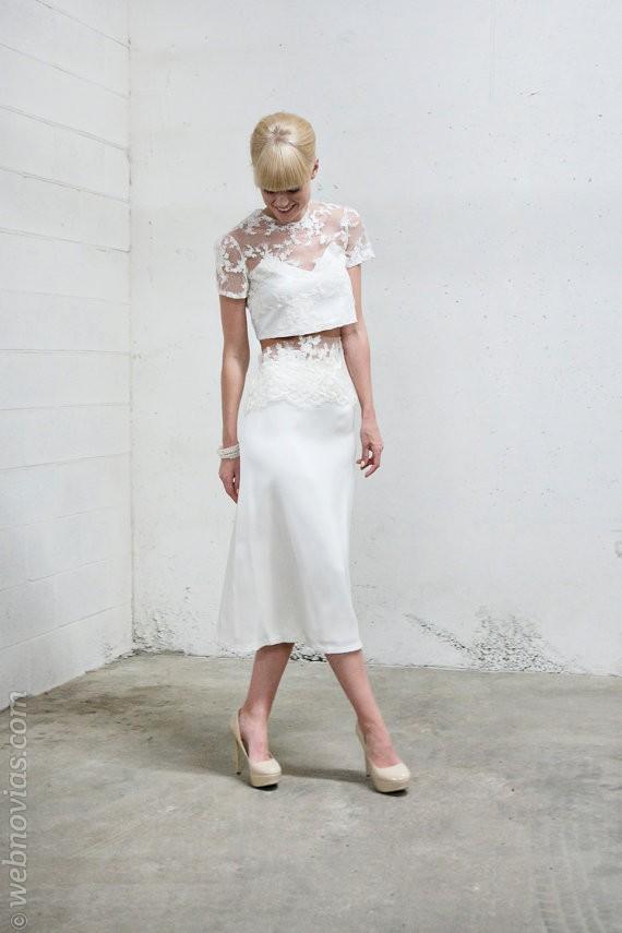 Consejo de moda: Novias con Crop top
