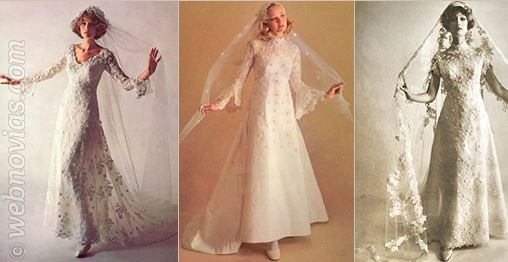 consejos de moda: vestidos años 70 | webnovias