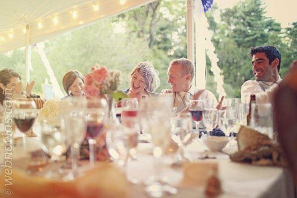 Carpas para bodas al aire libre