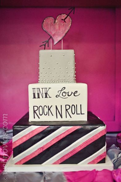 Bodas temáticas: Una boda rockera